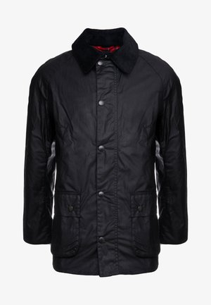 ASHBY WAX JACKET - Lehká bunda - black