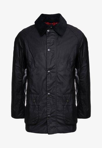 ASHBY WAX JACKET - Summer jacket - black
