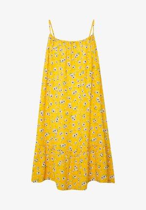 DAISY BEACH DRESS - Day dress - yellow floral