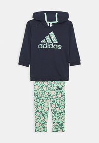 adidas Performance - FAVOURITES TRAINING SPORTS TRACKSUIT BABY SET - Tracksuit - pink - 0