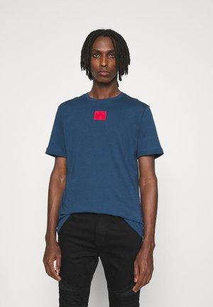DIRAGOLINO - Basic T-shirt - dark blue