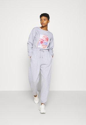USA GRAPHIC CASUAL - Tuta jumpsuit - grey