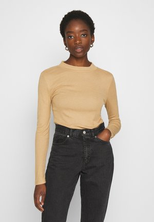 NMELENA LONG SLEEVE - Long sleeved top - brown sugar