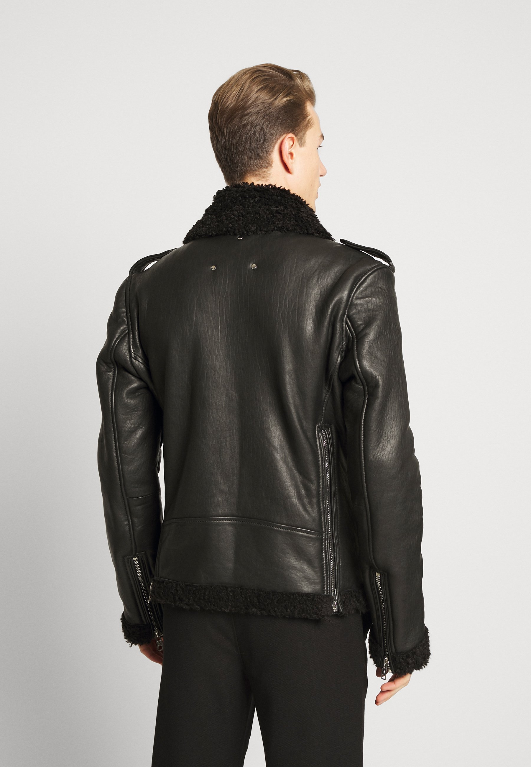KILIAN Leren jas black