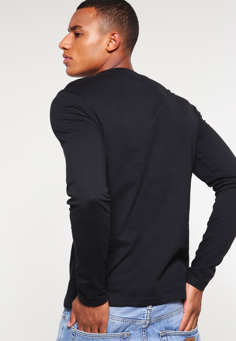 YOURTURN 3 PACK - Long sleeved top - black CSPpO