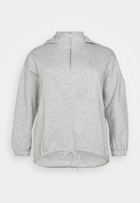Pieces Curve - PCRIO  LOUNGE  CURVE - Sweatshirt - light grey melange - 6