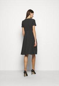 Lauren Ralph Lauren - PRINTED TECH DRESS - Day dress - black - 2