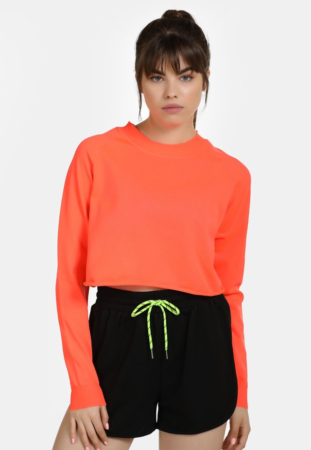 Trui - neon orange