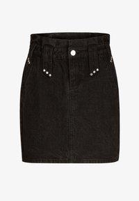 Morgan - Denim skirt - black - 4
