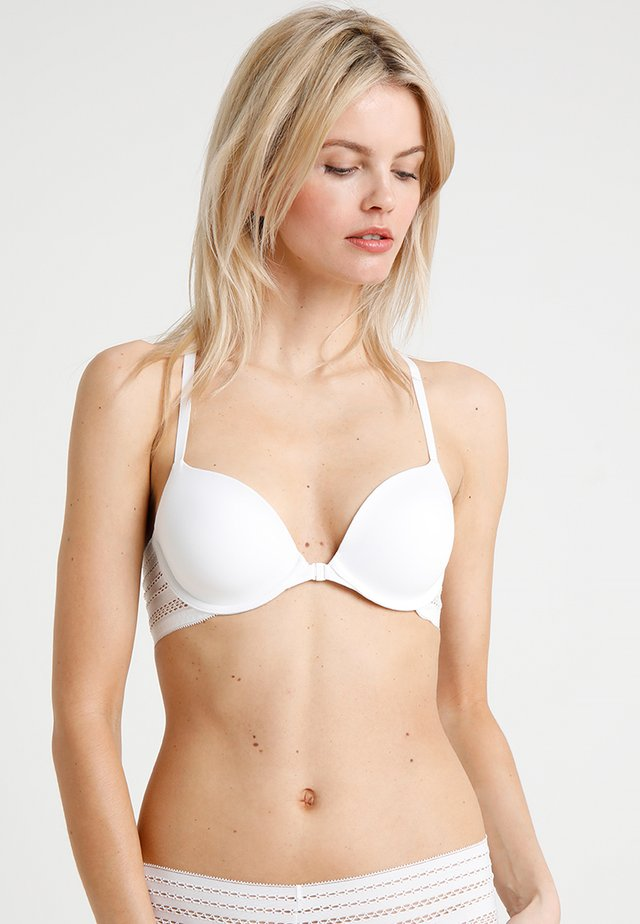 CLASSIC T BACK BRA - T-shirt-bh'er - poplin white
