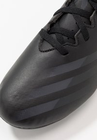adidas Performance - GHOSTED.4 FXG UNISEX - Moulded stud football boots - core black/grey six - 2