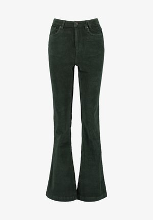 Trousers - pine green