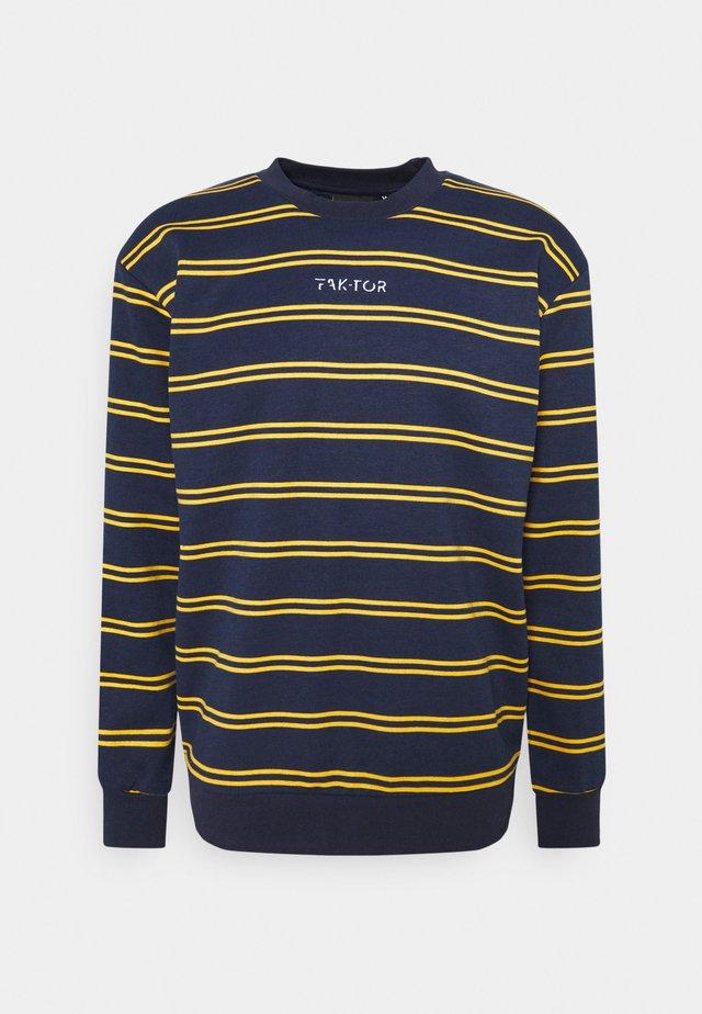 DISTRICT CREW - Sweater - navy