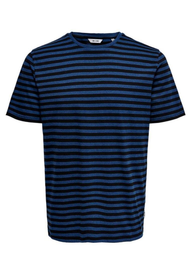 Men ONSJAMIE LIFE SS STRIPE REG TEE NOO - Print T-shirt