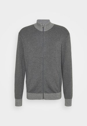 TONAL ZIP - Cardigan - grey