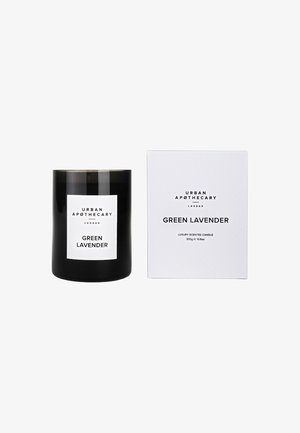 LUXURY BOXED GLASS CANDLE - Doftljus - green lavender