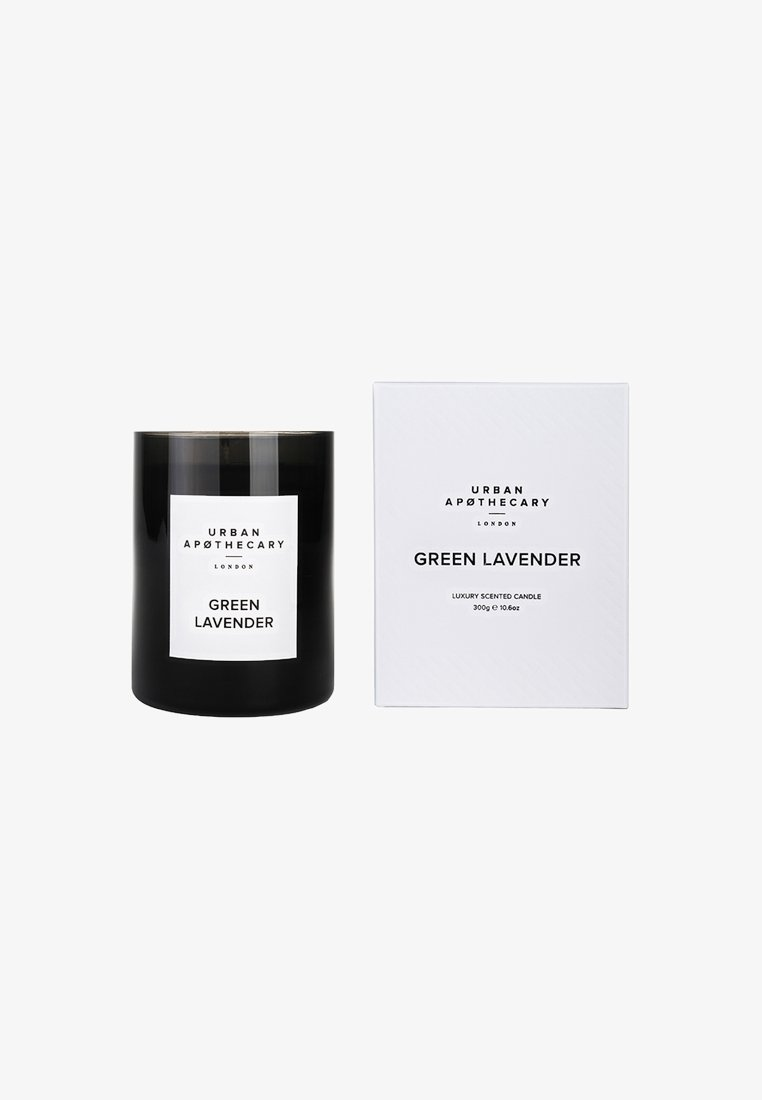 Urban Apothecary - LUXURY BOXED GLASS CANDLE - Scented candle - green lavender