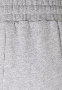 Even&Odd - Wide leg cropped Joggers - Tracksuit bottoms - mottled light grey - 2