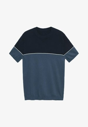 ARTHURT - T-shirt print - azul petróleo