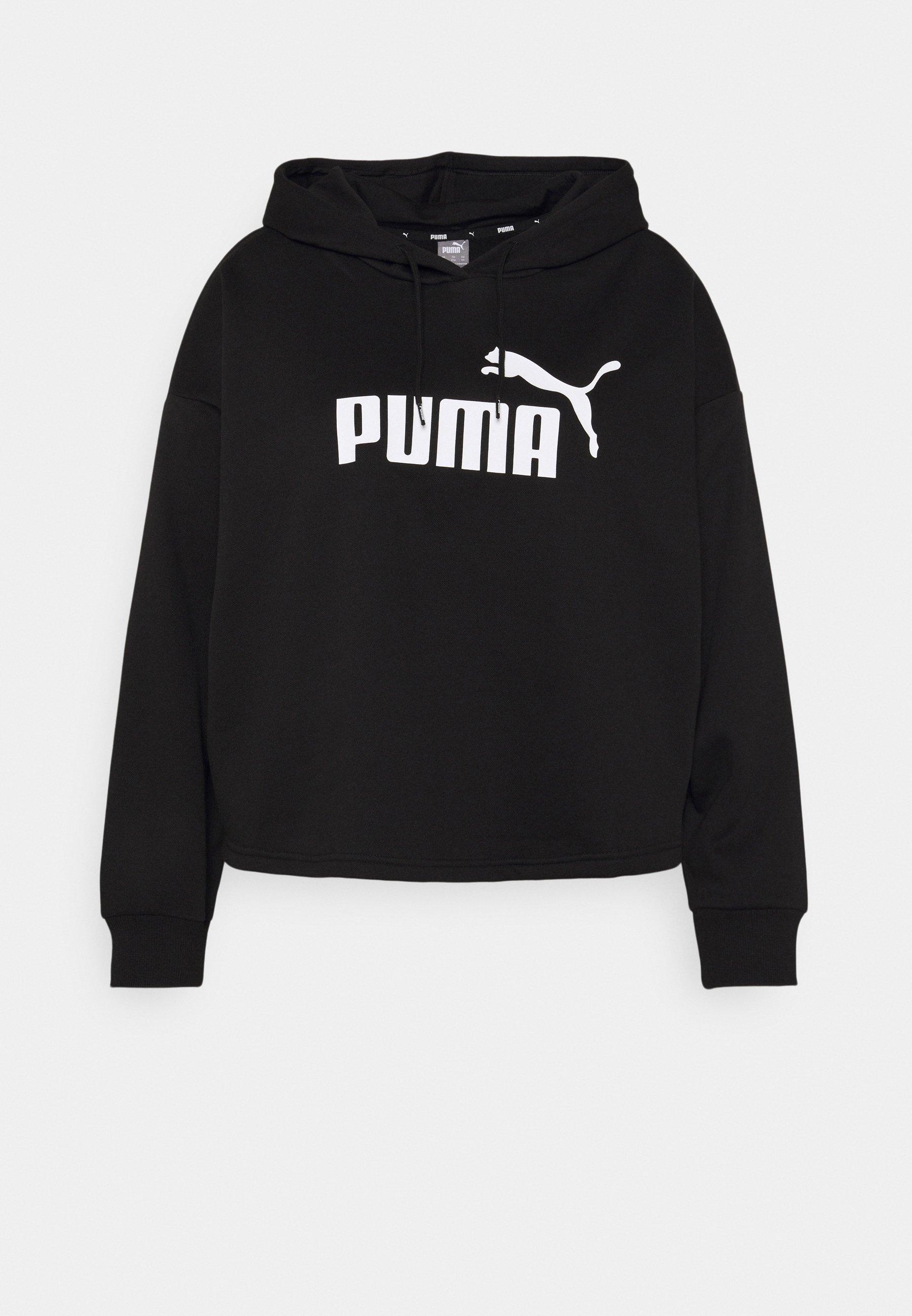 Women CROPPED LOGO HOODIE PLUS - Sweatshirt