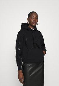 Calvin Klein Jeans - ECO HOODIE - Hoodie - black - 0