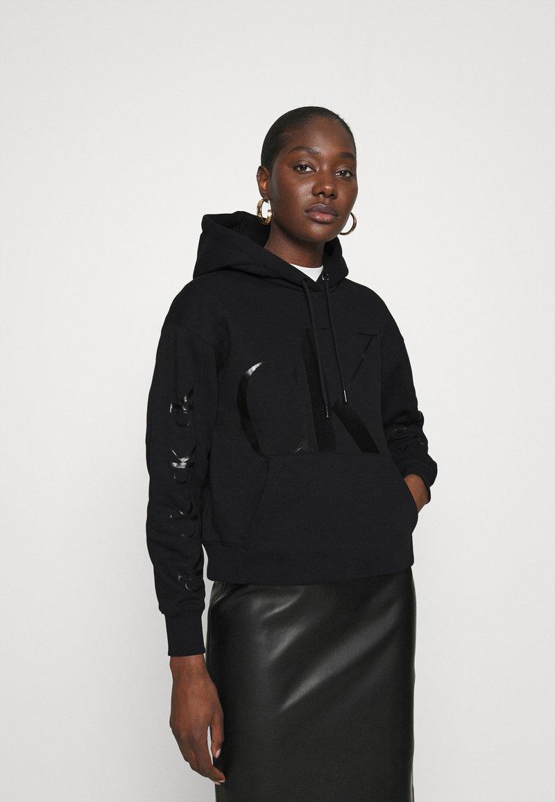 Calvin Klein Jeans - ECO HOODIE - Hoodie - black