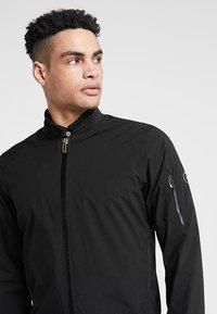 Cross Sportswear - BOMBER JACKET - Kurtka przeciwdeszczowa - black - 3