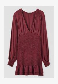 PULL&BEAR - Day dress - bordeaux - 5