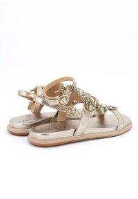 Alma en Pena - SIENA - Ankle cuff sandals - gold - 3