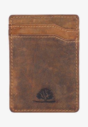 VINTAGE - Business card holder - brown