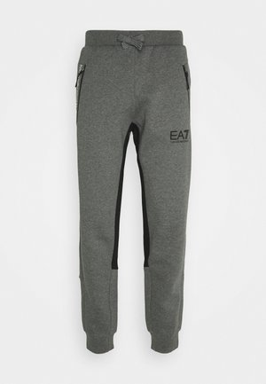 PANTALONI - Tracksuit bottoms - dark grey mel