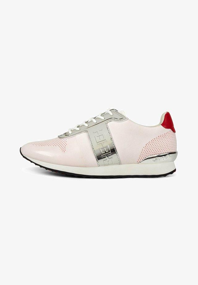 MONO RUNNER-METALLIC - Sneakers laag - white