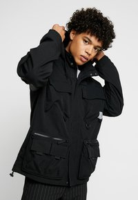 Carhartt WIP - ELMWOOD JACKET - Summer jacket - black - 0