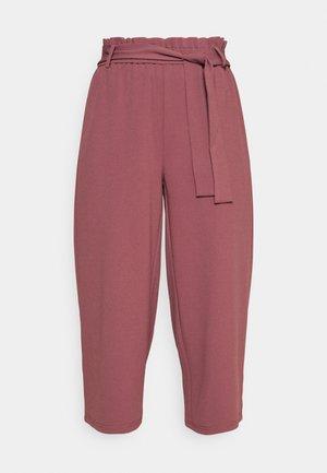 ONLHARRIS CAROLINA CULOTTE BELT - Tygbyxor - pink