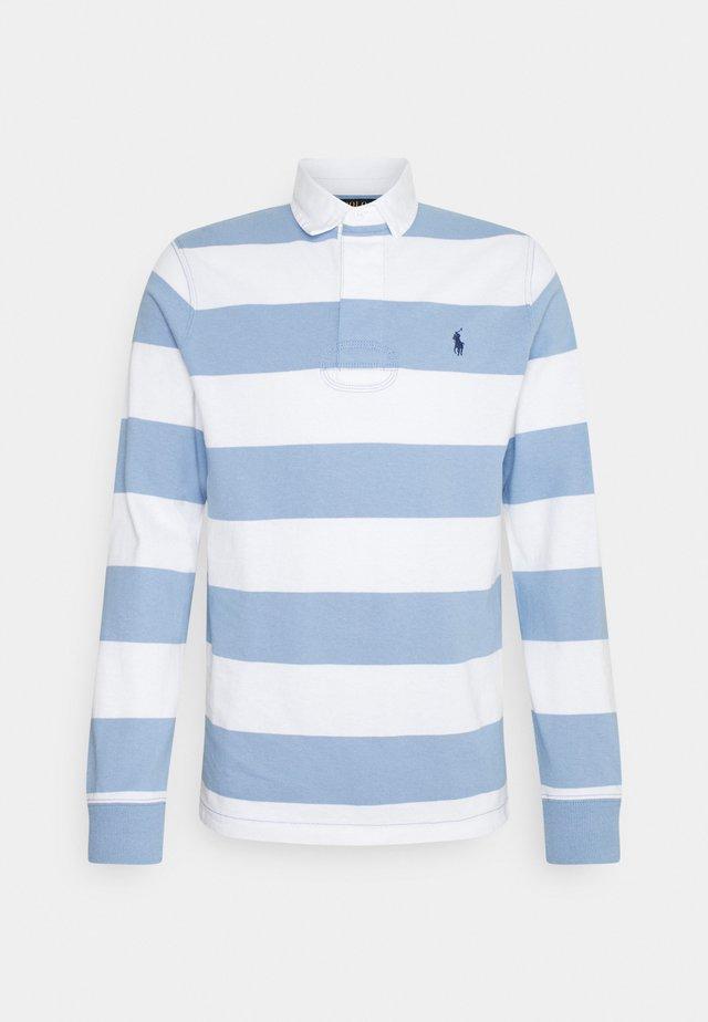 RUSTIC - Polo shirt - chambray blue