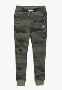 Abercrombie & Fitch - MARKETED JOGGER - Träningsbyxor - khaki - 0