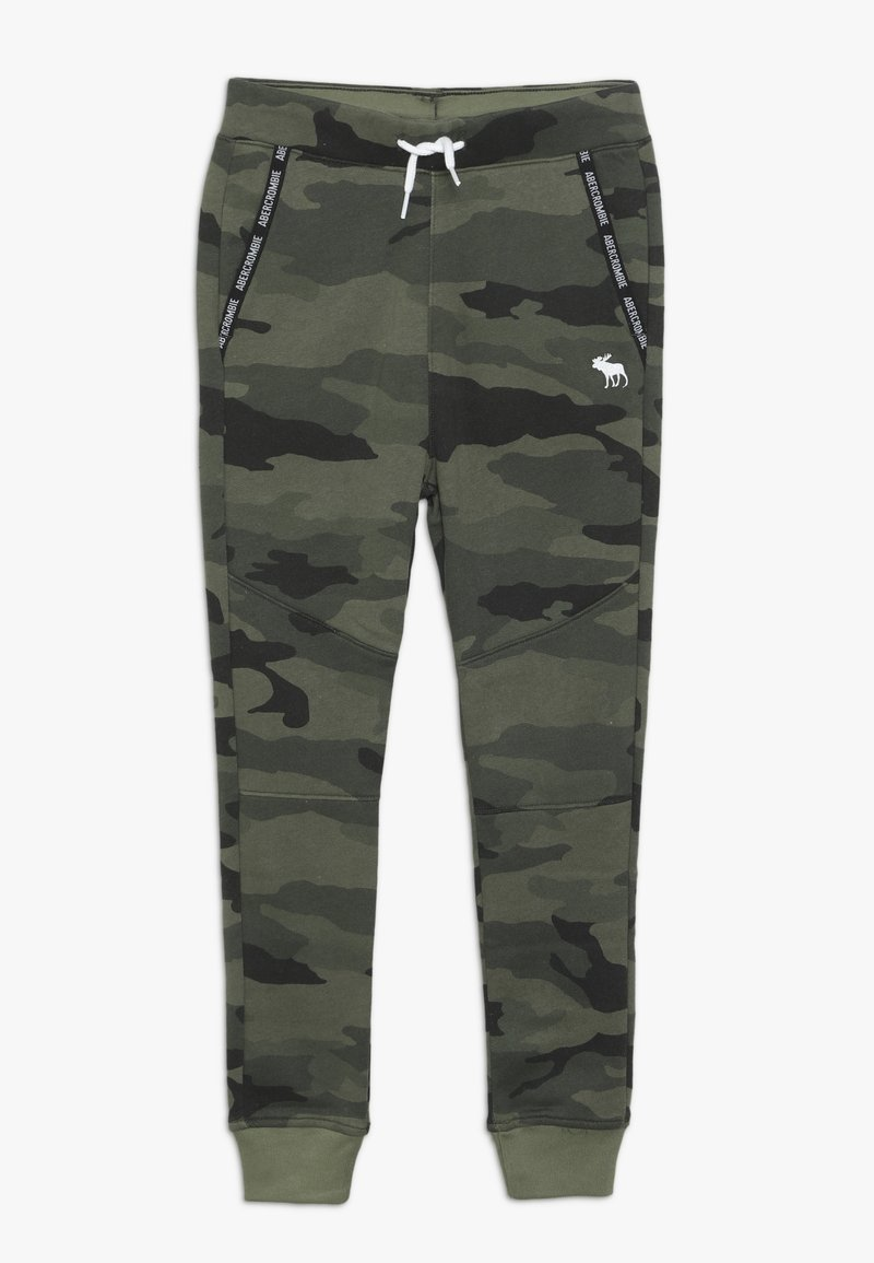 Abercrombie & Fitch - MARKETED JOGGER - Träningsbyxor - khaki