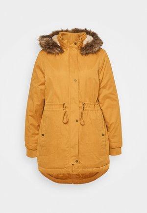 LINED - Zimní kabát - mustard