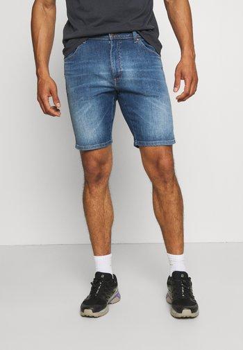 TEXAS - Denim shorts - lite blue