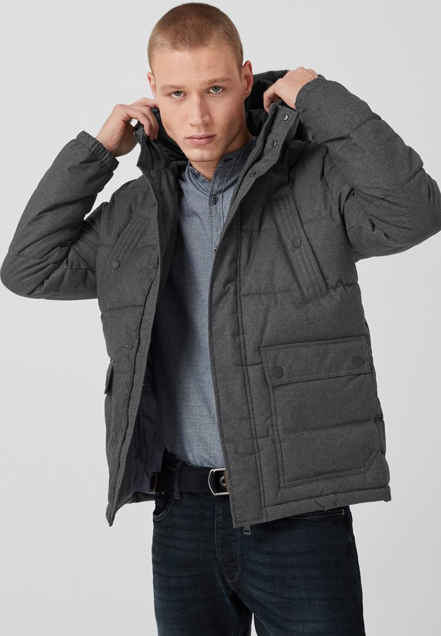FINELY - Winter jacket - black melange