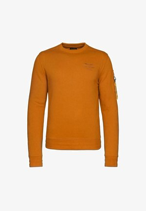 Sweatshirt - mustard