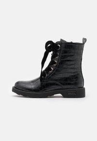 KHARISMA - Šněrovací kotníkové boty - nero - 1