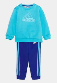 adidas Performance - Sweatshirt - brcyan/white - 0