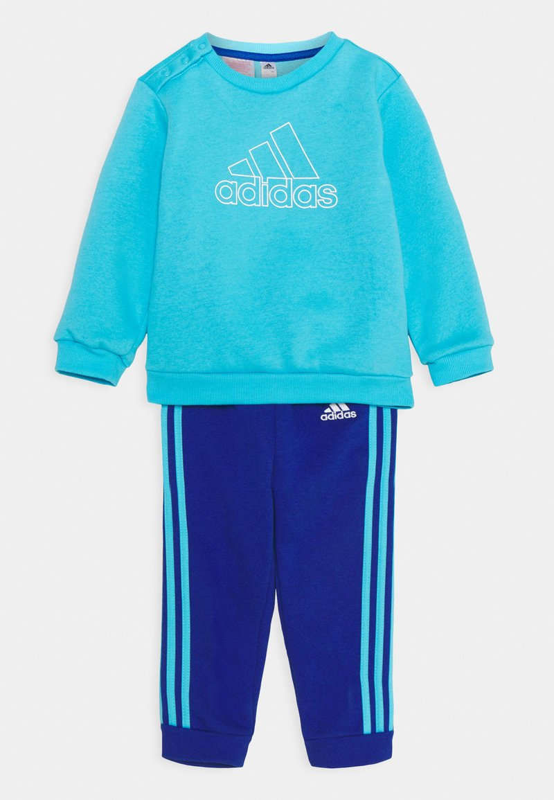 adidas Performance - Sweatshirt - brcyan/white