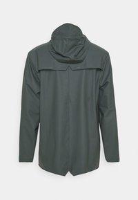 Rains - JACKET UNISEX - Regnjakke - slate - 1