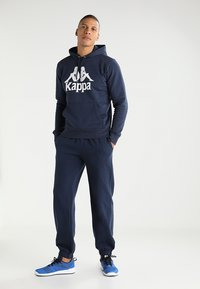 Kappa - SNAKO - Tracksuit bottoms - navy - 1