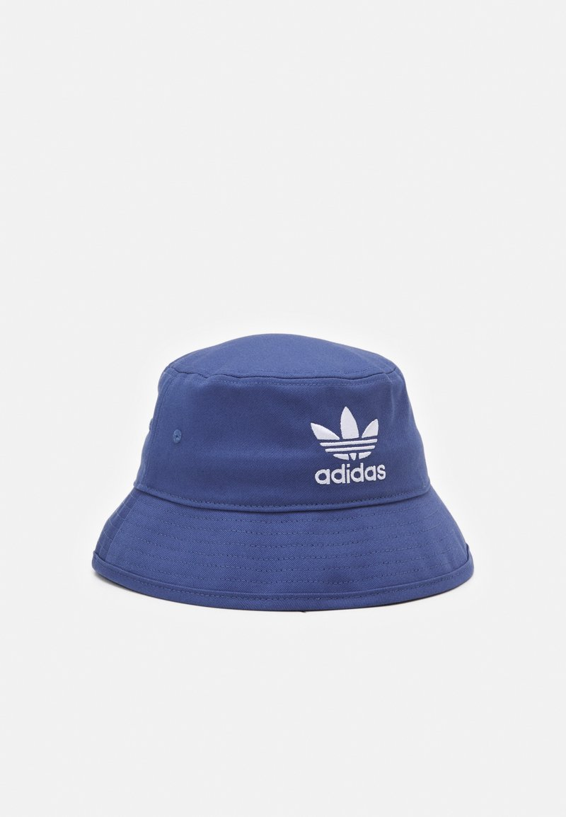 adidas Originals - BUCKET HAT UNISEX - Hat - crew blue/white