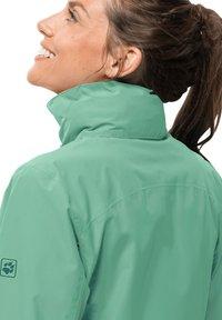 Jack Wolfskin - EVANDALE  - Outdoor jacket - pacific green - 3