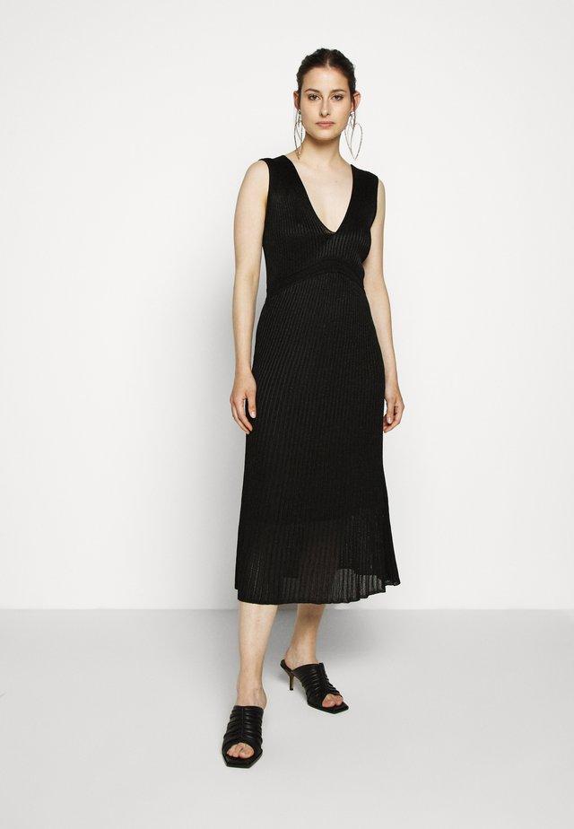 Gebreide jurk - nero