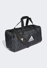 adidas Performance - PRIMEGREEN GRAPHIC DUFFELBAG - Torba sportowa - black - 2